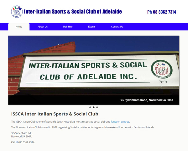 inter italian sports and social club of adelaide website